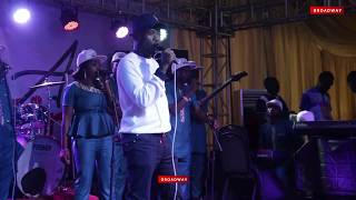 LIVE BAND: Boye Best Performs At Alaba Ultimate Album Launch
