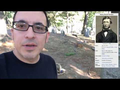 SLEEPY HOLLOW CEMETERY - Concord, MA (Alcott, Longfellow, Emerson, Hawthorne, Thoreau graves)