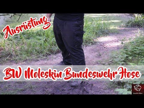 BW Moleskin Bundeswehr Hose - Soldatenhose Leo Köhler | Bushcraft Outdoor Survival Trekking