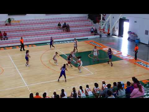 Aztecas 69 vs UACH 36 FEMENIL / LIGA ABE Temporada 2017- 2018