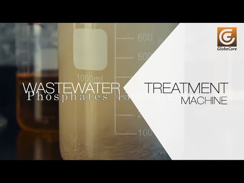 Wastewater treatment  from phosphorus (phosphate) with electromagnetic nano-mill