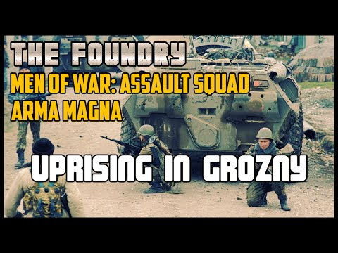 Uprising in Grozny - Men of War: Assault Squad (Arma Magna)