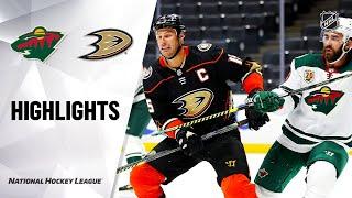 NHL Highlights | Wild @ Ducks 01/18/21