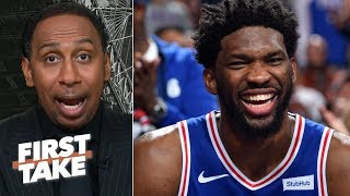 Download Stephen A. warns the 76ers against trading Joel Embiid   First Take Mp3 and Videos