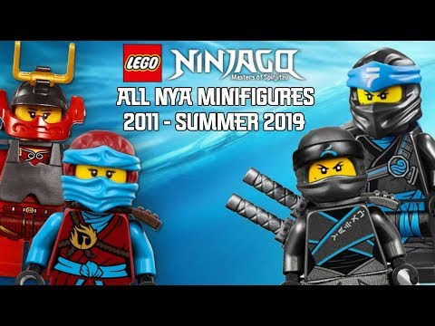 Ninjago Masters of Spinjitzu: All Nya Minifigures (2011 - Summer 2019)