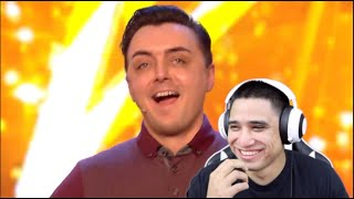 Amazing and Emotional!! Marc Spelmann Golden Buzzer Week 1 Britain's Got Talent  Audition Reaction