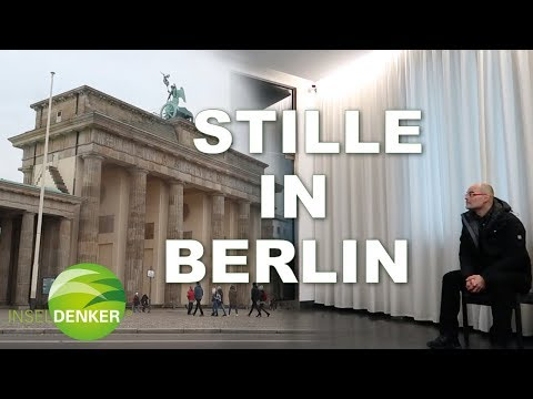 Stille Mitten In Berlin Inseldenker On Tour No Youtube
