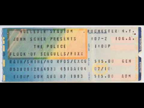 "The Police- Rochester, NY 07-08-1983 ""Holleder Stadium"" Full Show"