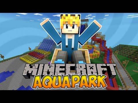 Строим город в Minecraft #2 Аквапарк