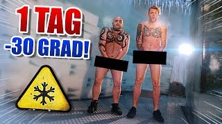 1 TAG in KÄLTEKAMMER! (NICHT NACHMACHEN!) - Andre vs. Cengiz | S7F5