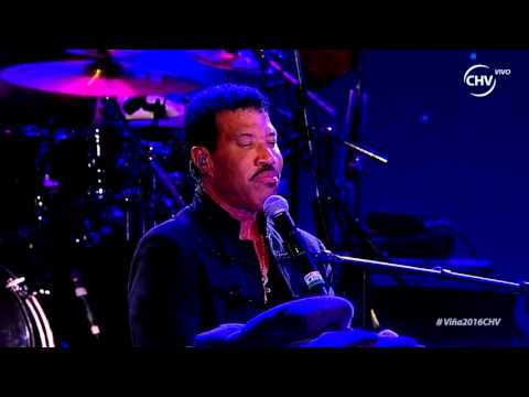 Lionel Richie 5 - Three Times a Lady, Festival de Viña del Mar 2016