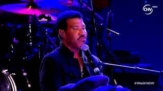 Lionel Richie 5 - Three Times a Lady, Festival de Viña del Mar 2016