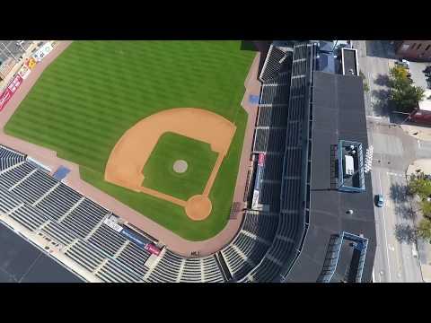 Downtown Toledo, Ohio! Drone's Eye View! 20180919