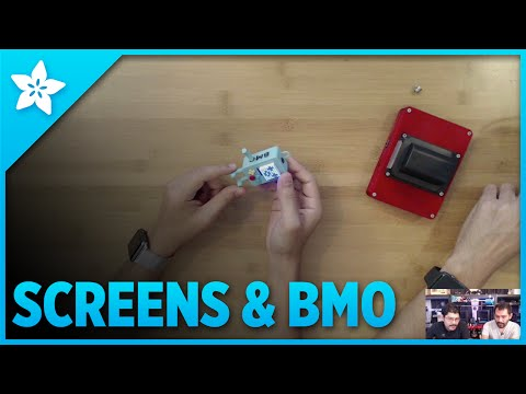 3D Hangouts - Screens & BMO