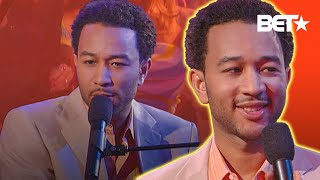 John Legend Performs Used To Love U On Soul Train & Describes What Made Him Who He Is Today