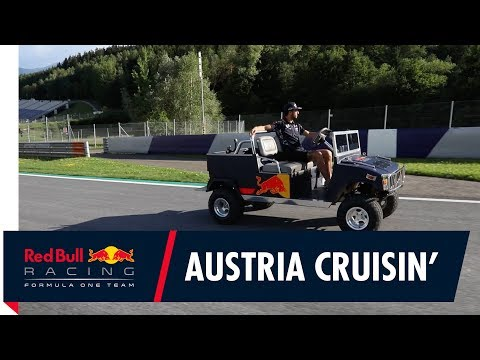 Keep Rollin' Rollin' Rollin' Rollin'! Join Daniel Ricciardo for a cruise of the Red Bull Ring