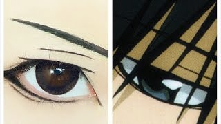 Tutorial : Anime Eye Makeup 121 • Hibari Kyoya Thumbnail