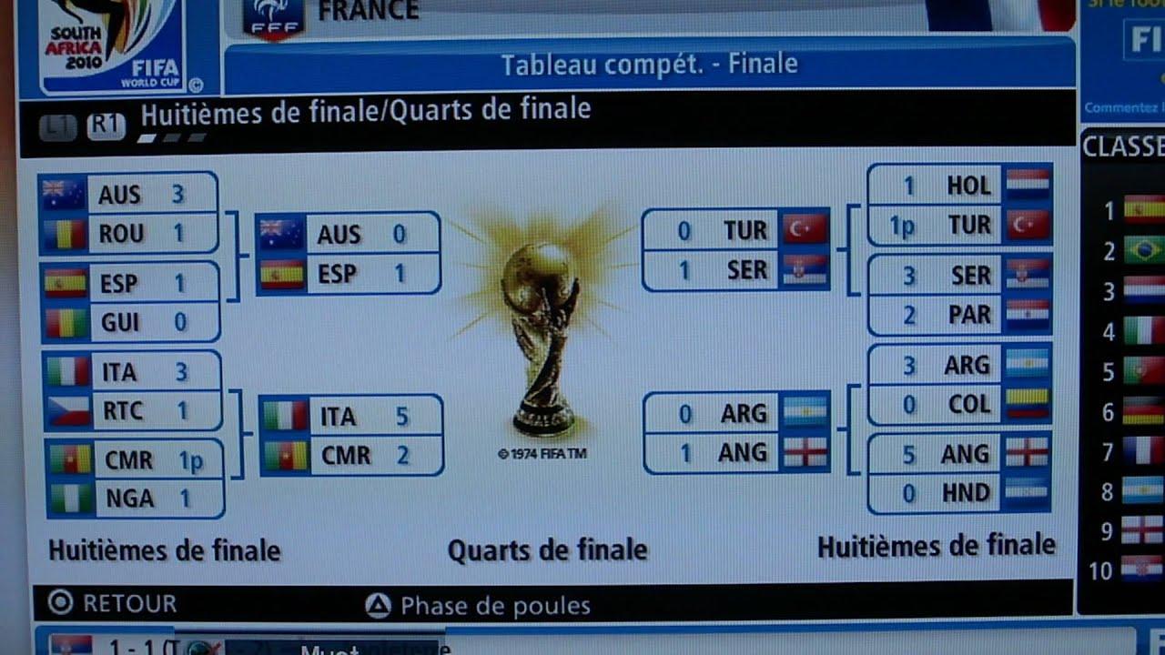 Bug fifa coupe du monde 2010 mp4 youtube - Coupe du monde fifa 2010 ...