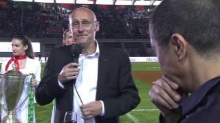 RUGBY Canal Rugby Club L'émouvant discours de Bernard Laporte