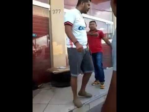 Briga de taxistas em Macapá - Ap