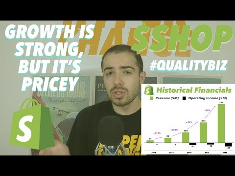 Shopify: A Pricey Growth Story