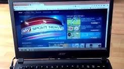 Sky Go auf dem Laptop - Bundesliga Konferenz