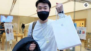 【iPhone 12】ついに発売! Appleストアは行列もハイタッチも自粛です