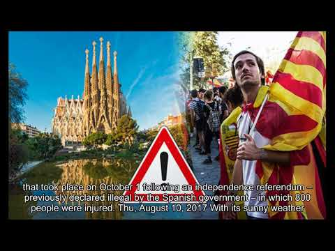 Is it safe to travel to Barcelona? Latest advice following Catalonia independence vote
