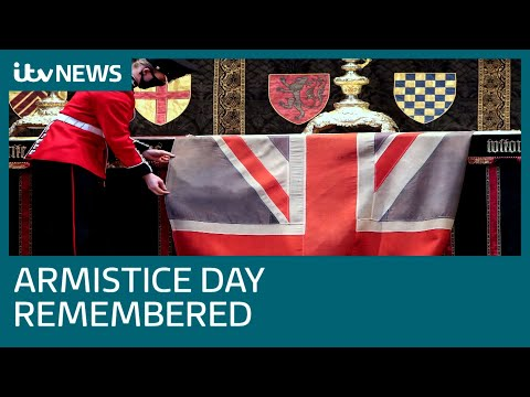 Armistice Day remembered as Covid enforces reduced services | ITV News