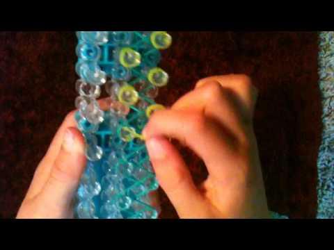 Caperoma RainbowLoom bracelet -easy-