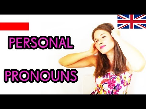 Learn Polish - Lesson 2- Personal Pronouns