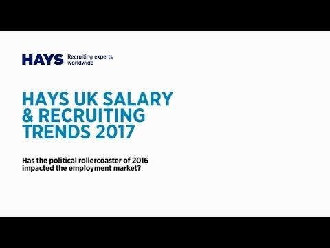 Watch Hays UK Salary & Recruiting trends webinar for Accountancy & Finance professionals