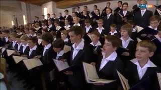 """Dresdner Kreuzchor """"Die Himmel erzählen die Ehre Gottes"""" H. Schütz Gottesdienst Kreuzkirche Dresden"""