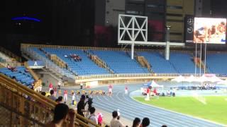 2015台灣國際田徑邀請賽100m男子決賽