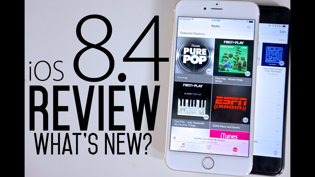 iOS 8.4 Review - What's New?