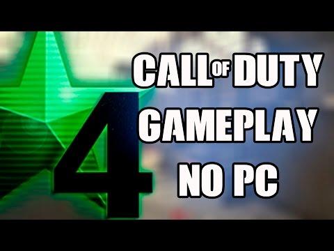 CALL OF DUTY 4: MODERN WARFARE no PC [CoD4 PC GAMEPLAY]
