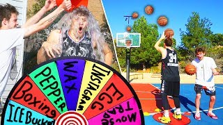 MYSTERY WHEEL FORFEIT 3PT BASKETBALL CONTEST