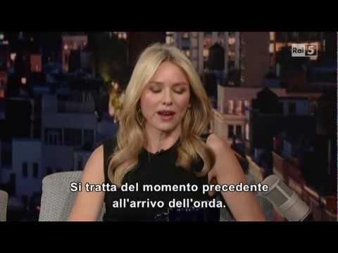 Naomi Watts @ David Letterman Show 22/12/12 SUB ITA