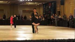 Raha Moshasha Kid Ballroom dancing Latin competition Chacha,Samba and Ramba Silver level 2013