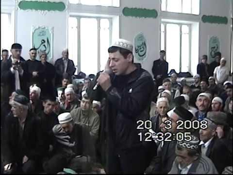 Азан Багавутдин в Дербенте 20 03 2008