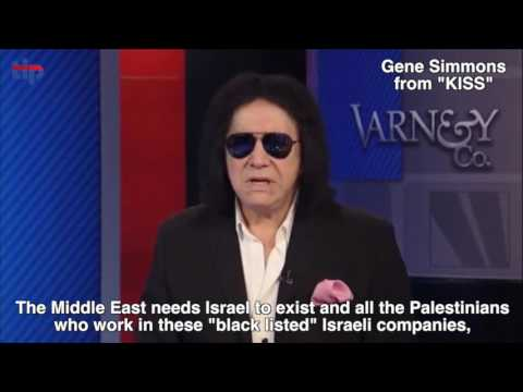 WATCH: Gene Simmons from KISS loves Israel