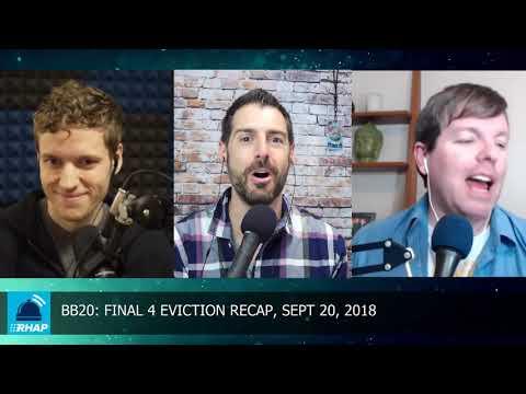 BB20 Final 4 Eviction | Thursday, 9/20/18