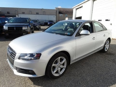 Silver 2009 Audi A4 2 0t Quattro Sedan The Warehouse