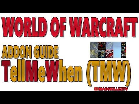 WORLD OF WARCRAFT: LEGION - Addon Guide - TellMeWhen (TMW)