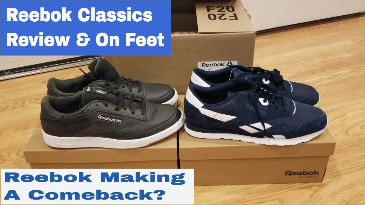 98967844ab2 Reebok Classics Shoe Review   On Feet- Classic Nylon   Club C - YouTube