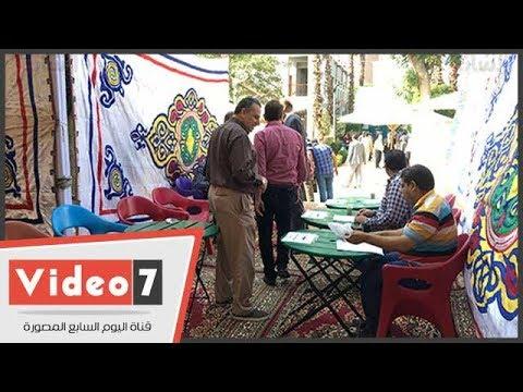 توافد الأطباء للتصويت فى التجديد النصفى للنقابة بأسيوط والقليوبية  - 13:22-2017 / 10 / 13