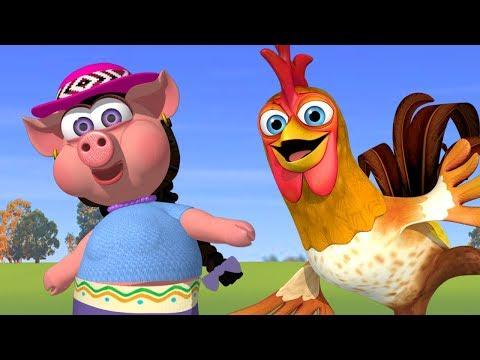 Счастливая ферма  - детские песни | Детское Королевство