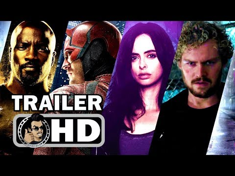 Thumbnail: MARVEL'S THE DEFENDERS Official Final Trailer (HD) Marvel/Netflix Action Series