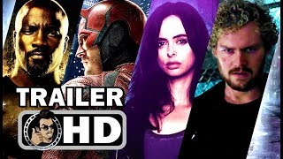 Marvel's the defenders official final trailer (hd) marvel/netflix action series