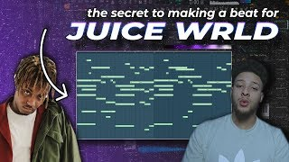the secret to making a beat for juice wrld